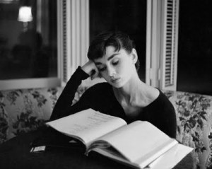 audrey and book